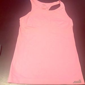 4/$25 Avia Pink Workout Top with Built in Bra